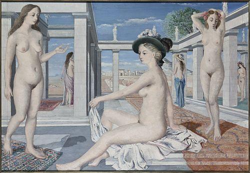 """Paul Delvaux """"dévoilé"""" im Musée d`Ixelles"""
