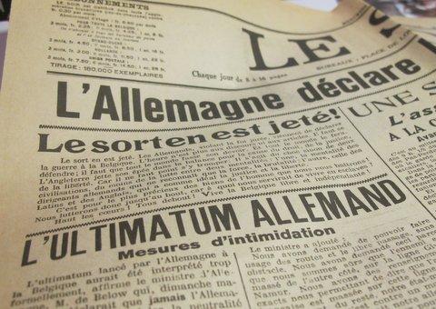 """Vom deutschen Einmarsch in Belgien durch das """"Vierländereck"""""""