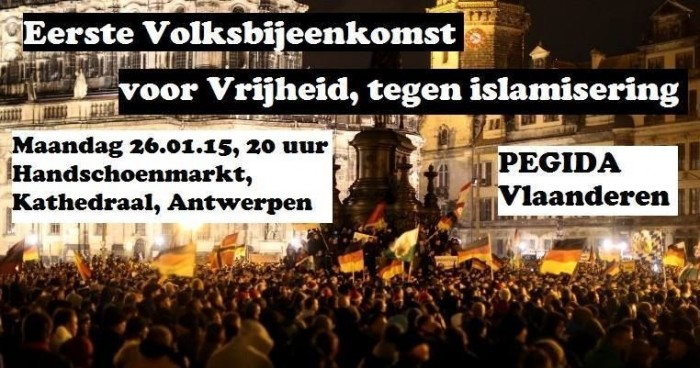 """""""Pegida Vlaanderen"""": Allianz der Wirren"""
