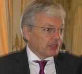 Didier Reynders' Neujahrsempfang im Zeichen von Terrorismus