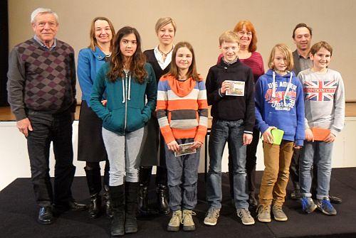 'Showdown' der Besten: – Schüler-Lesewettbewerb im Goethe-Institut