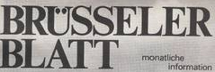 """Erinnerungen an das """"Brüsseler Blatt"""""""