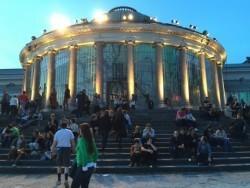 An einem Sommerabend in Brüssel…