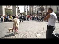 In Brüssel steppen Bär… und Oma