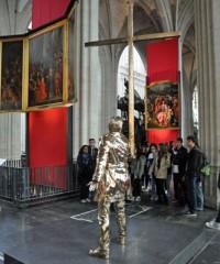 Bildergalerie: Jan Fabre in der Kathedrale von Antwerpen