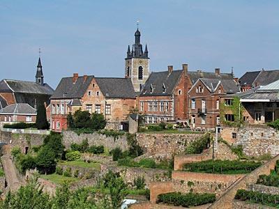 Thuin und die hängenden Gärten – ein belgisches Welterbe