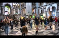 Grease-Flashmob
