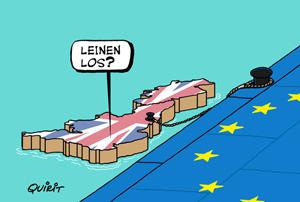 Harter Brexit. Leidet Belgien?