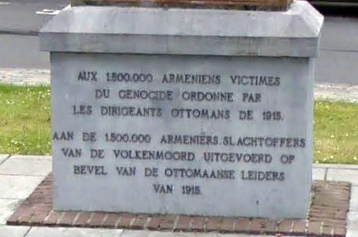 Das armenische Mahnmal in Ixelles