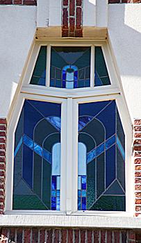 Art deco Architektur Prins Leopoldplein 13 - Detail
