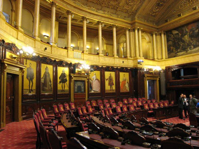 Ein Besuch im belgischen Senat