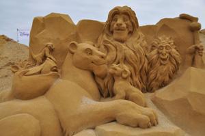 Überall Sand