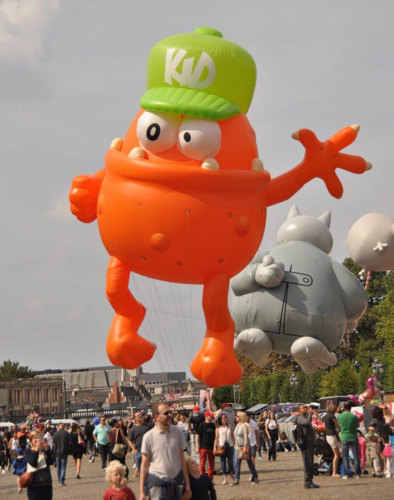 Ballon-Parade
