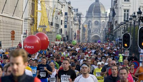 Einmal Brüsseler Marathon laufen