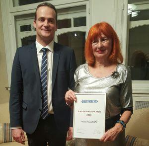 Preisträgerin Heide Newson