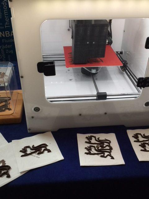 Belgische Schokolade aus dem 3D-Drucker