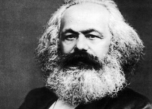 Karl Marx in Brüssel