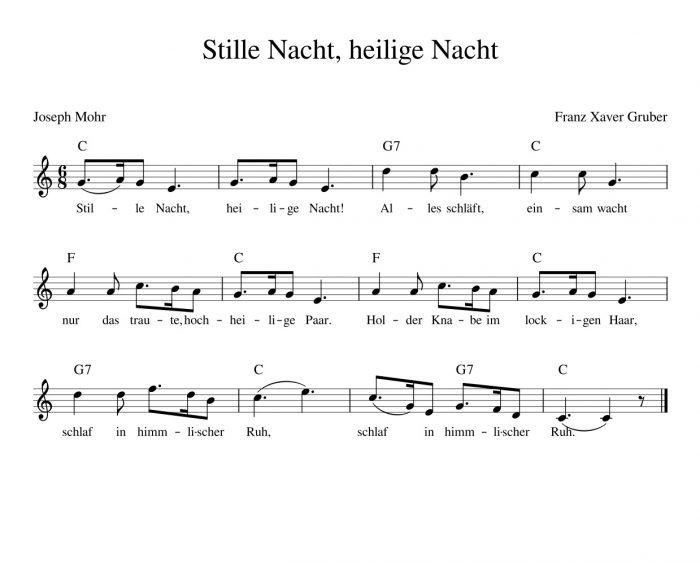 """Zum 200. Jahrestag von """"Stille Nacht, heilige Nacht"""""""