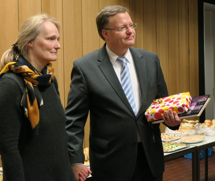 Antwerpens Pfarrerehepaar kehrt nach Westfalen zurück