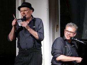 Zum ersten Mal in Brüssel: Pigor und Benedikt Eichhorn