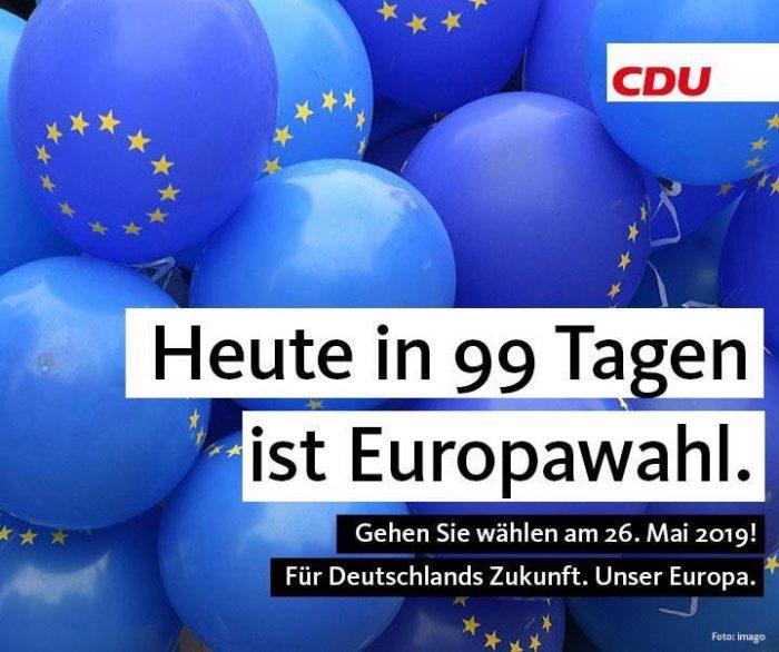 Der CDU-Auslandsverband Brüssel-Belgien