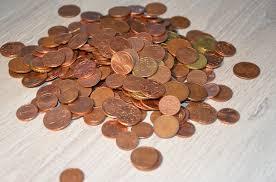 Adieu 1- und 2-Cent-Münzen