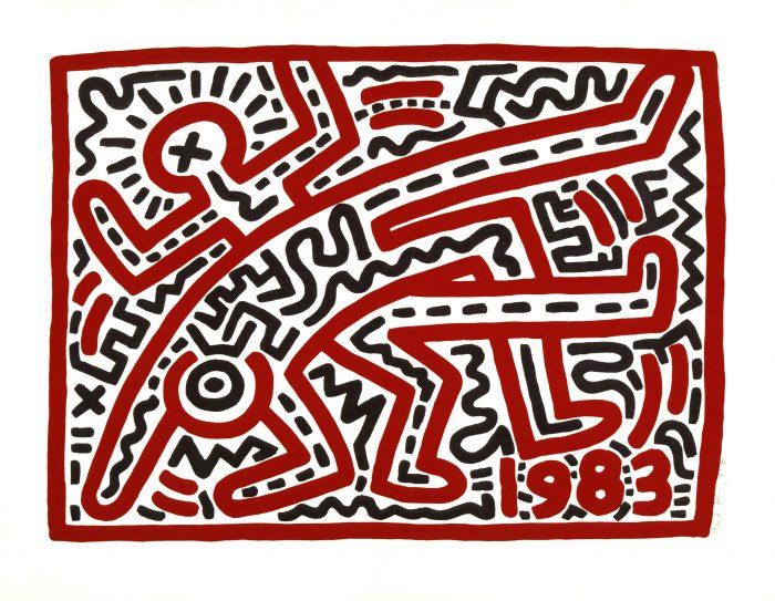 Große Keith Haring Retrospektive im BOZAR