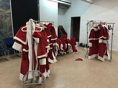 Der harte Job des Weihnachtsmanns
