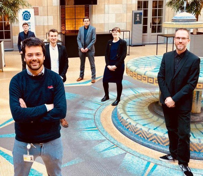 Experten-Quartett im Corona-Dauereinsatz