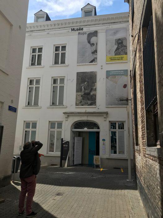 Belgische Comics – das Félicien Rops Museum in Namur