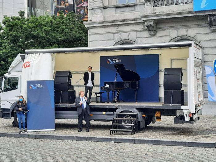 """Konzert mit Lkw und Bus: """"Beethoven goes Jazz"""""""