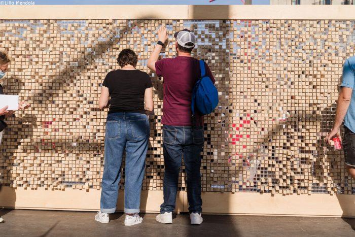 """Kulturprojekt """"Verschwindende Wand"""" – Grenzen überwinden und Mauern abbauen"""