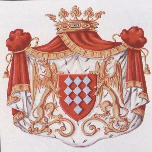 Das Wappen des Hauses de Lalaing