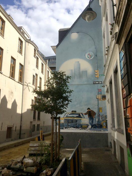 Auf den Spuren der neunten Kunst in Brüssel