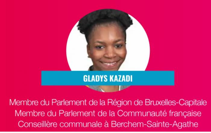 Europäisches Café Brüssel im Gespräch mit der belgischen Abgeordneten Gladys Kazadi