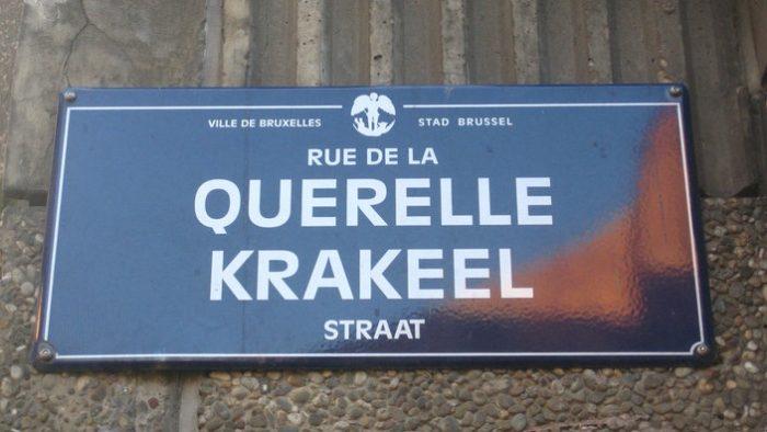 Schaarbeek oder Schaerbeek? Brüsseler Ortsnamen und ihre Herkunft
